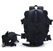Party favor Unisex Dinosaur monster backpacks Teenagers Children Girls Boys Cartoon Animal Chameleon Lizard Shoulder School Bag