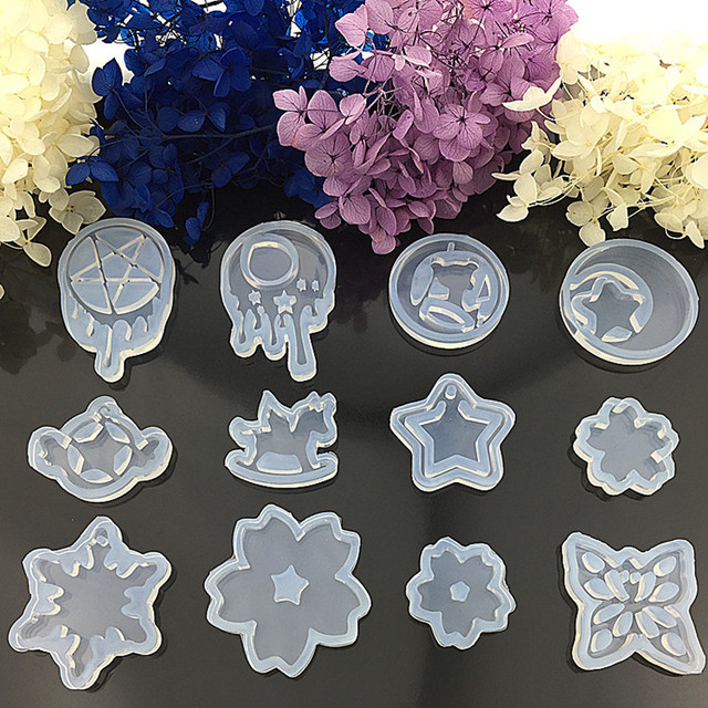 Resin Silicone Pendant Mold Sailor Moon Ornaments Handmade Jewelry Making Tool Mould