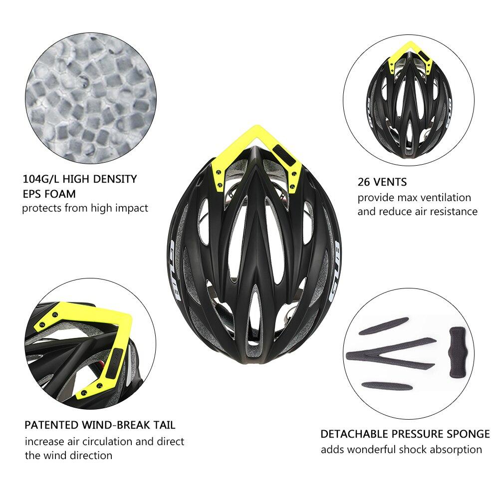 NUCKILY велосипедный шлем цельно Формованный дорожный велосипед и горный велосипед шлем для взрослых PB07 - 3