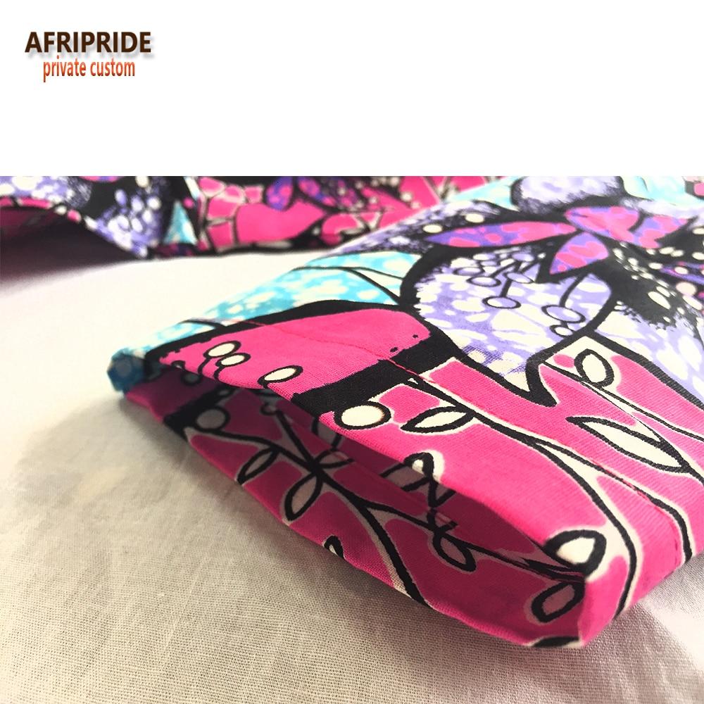 Afrikansk traditionell 2 styck kjol set för kvinnor AFRIPRIDE - Nationella kläder - Foto 5
