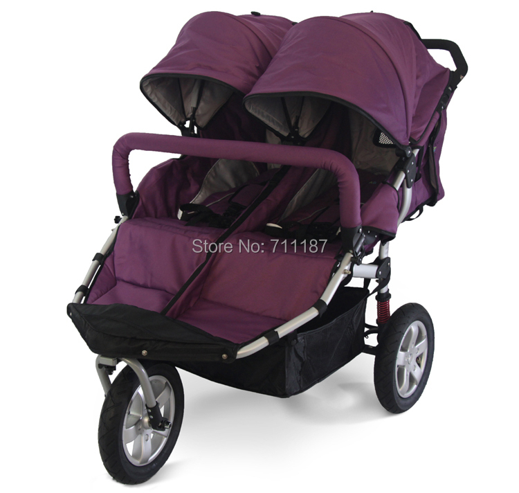 Aliexpress.com : Buy Nice Quality Children Double Buggy,Pram Twins ...