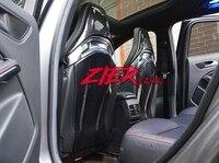 Apto para Mercedes Benz A45 CLA4 W205 C63S C63 AMG fibra de carbono estofados  assento tampa de assento para trás