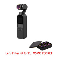 MCUV CPL NDPL ND64 PL ND32 PL ND4 ND8 Camera Lens Filter Kit for DJI OSMO POCKET Gimbal Accessories