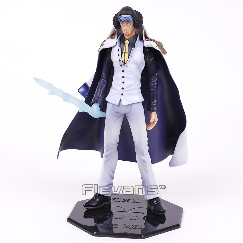 Anime One Piece POP DX Kuzan PVC Figure Collectible Model Toy 27cm anime one piece dracula mihawk model garage kit pvc action figure classic collection toy doll