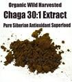 Siberian Chaga Mushroom 30: 1 Экстракт Порошок 250 г-Органический Экстракт Polyose