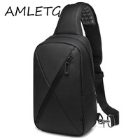 Sell Like Hot Cakes New Anti Thief Crossbody Bag Oxford Cloth Water Repellent Men Shoulder Bag
