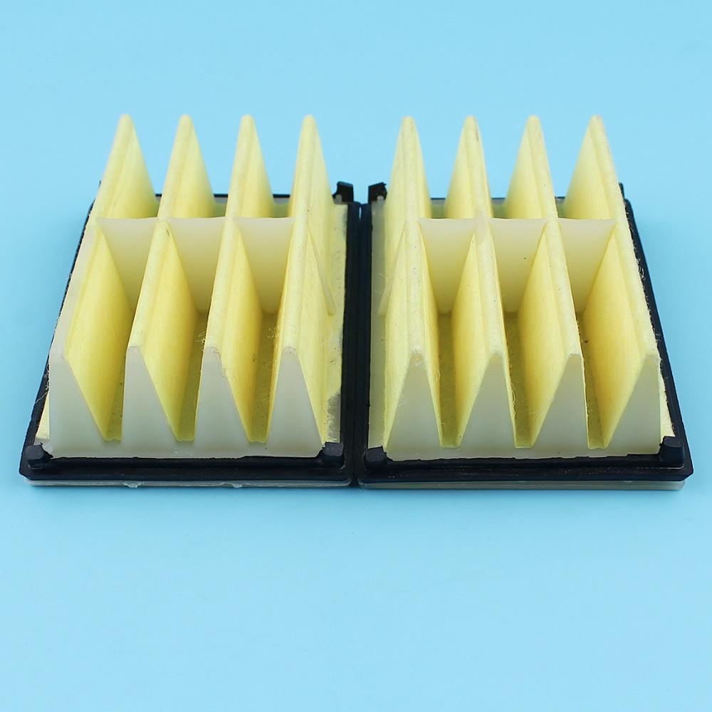 2pc/lot Air Filter Assy Kit For Husqvarna 268 272 261 262 394 EPA 272 XP 262XP 394XP Chainsaw #503447203