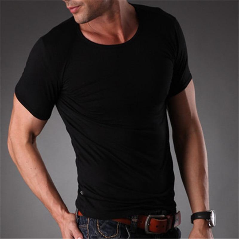 RL Brand Natrual Modal Fitness T-shirt Տղամարդկանց - Տղամարդկանց հագուստ - Լուսանկար 5