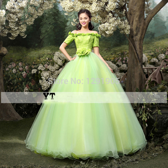 1c7c35e355b6b US $188.0 |green lace beading floral medieval dress ball gown princess  Renaissance Gown queen cosplay Victoria Belle ball gown on Aliexpress.com |  ...
