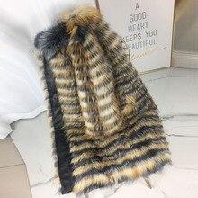 CNEGOVIK Women's hot silver fox fur coat natural long fur coats real fox fur coat plus size