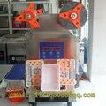 Sellado automático de la taza de acero Inoxidable taza automática Continua sellador taponadora sellador bandejas taza sellador automático
