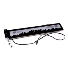 カスタム製のアクリルブラケット使用ブレース gpu カード rgb 280*45*6 ミリメートル修正ビデオカード対応オーラシステム 12 12v rgb