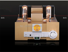 YAQIN MS-650B Integrated vacuum tube amplifier SRPP circuit 845×2 single-ended Class A power amplifier 2x15W 110V/220V