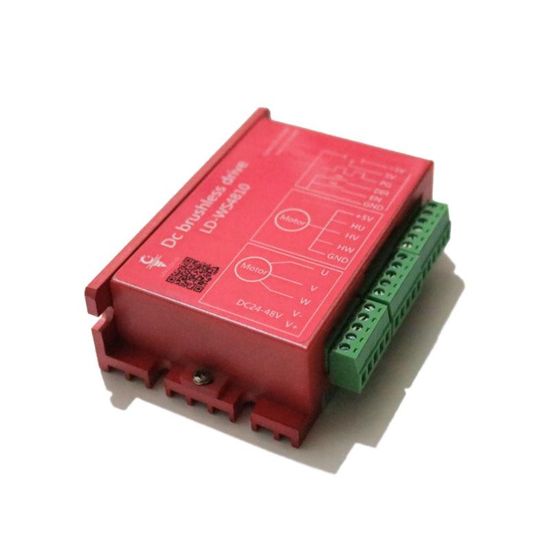 Conducteur de broche de conducteur de moteur sans brosse de cc de LD-WS4810 de Machine de gravure de CNCConducteur de broche de conducteur de moteur sans brosse de cc de LD-WS4810 de Machine de gravure de CNC