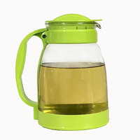 High temperature explosion proof cold water bottle large capacity jug cool white home glass kettle water glass juice LO105226