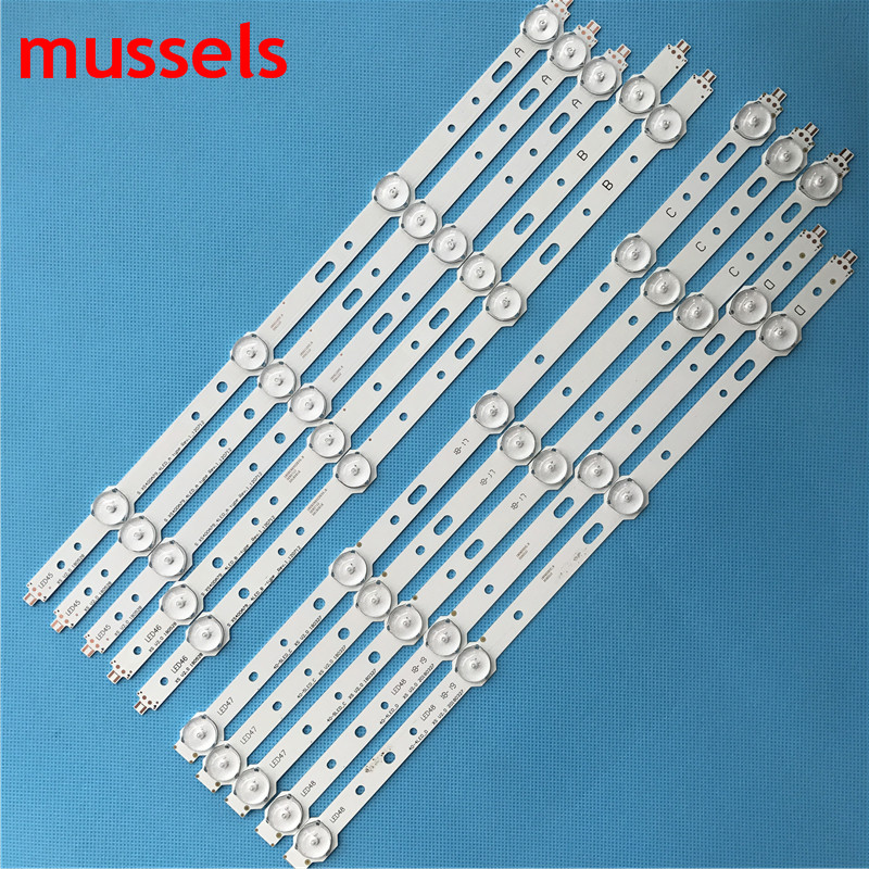 """LED backlight strip For Samsung 40"""" TV 4/5lamp SVS400A73 40D1333B 40L1333B 40PFL3208T LTA400HM23 SVS400A79 40PFL3108T/60 New-in Industrial Computer & Accessories from Computer & Office"""