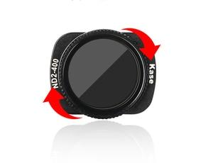 Image 3 - Kase Variabele Mc Nd Vnd Neutral Density Filter ND2 400 Magnetische Ontwerp Optische Glas Voor Dji Osmo Pocket Handheld Camera
