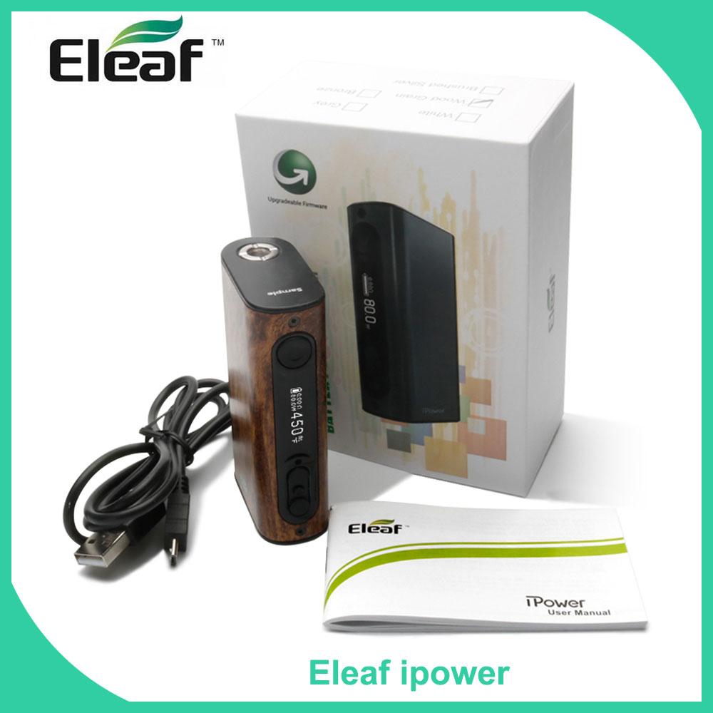 Original iSmoka Eleaf iStick Power ipower 80W Electronic Cigarette eleaf ipower TC 80W Box Mod 5000mah