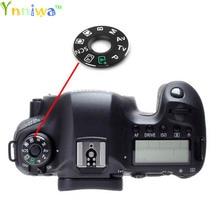 Para canon 5d2 5d3 5d4 60d 70d 6d 7d 80d 600d 700d 7d2 5ds modo disque o remendo da plataforma giratória da almofada, placa de identificação da etiqueta peças de reparo da câmera