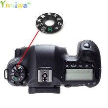 Voor Canon 5D2 5D3 5D4 60D 70D 6D 7D 80D 600D 700D 7D2 5Ds modus dial pad draaitafel patch, tag plaat naambord Camera reparatie onderdelen