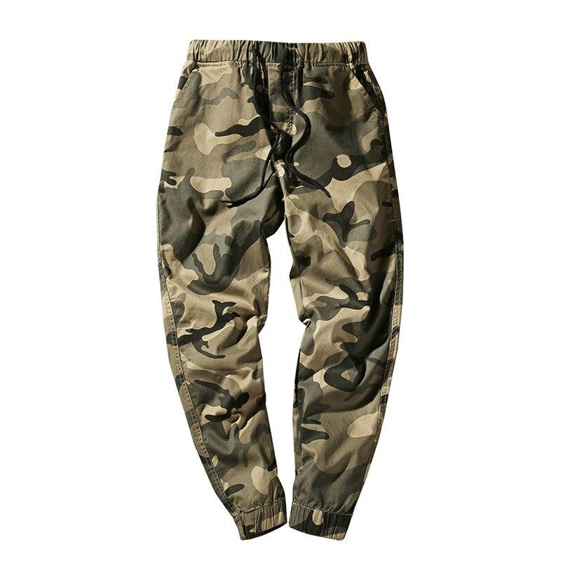 Camouflage Pant Men Drawstring Trousers Military Ankle-Length Pants Hip Hop 2019 Mens Sweatpants Plus Size 5XL 6XL 7XL HD018