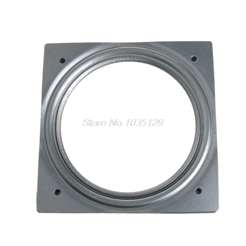Furniture Frames 100% Quality Square Bearing Swivel Plate Lazy Susan Turntable 3/4/6 Tv Rack Desk Tool