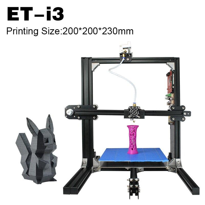 2017 Hot Selling Education Full Metal Structure Heated Platform Original Manufacturer 3D Printers for Home