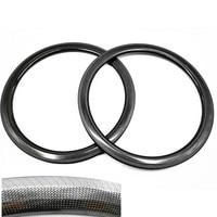 Carbon road rims 700c 38/50mm bike wheel 23/25mm AC3 brake rims 3k 12k UD road bike rim clincher tubular AC3 rims