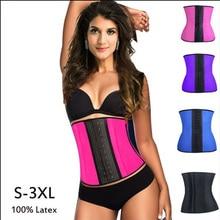 10 pcs เลดี้รัดตัว body shaper เอวเทรนเนอร์รัดตัว 100% Latex Corset เซ็กซี่ผู้หญิงเอว Cincher Shapewear