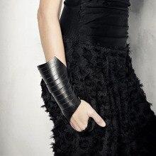 Роскошные кожаные браслеты, женские модные ювелирные изделия, винтажные браслеты, браслет в стиле панк, мягкие кожаные ювелирные изделия, крутая