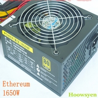 Eth Miner DASH ZCASH Coin Rig Miners Power Supply 1600W Power Supply For Pc 6 Pin