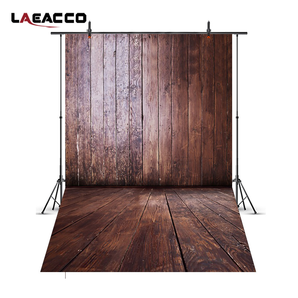 Laeacco Grunge Old Wooden Boards Scene Baby Childen Photography Backgrounds Customized Photographic Backdrops For Photo Studio laeacco ancient stone wall flooring portrait grunge photography backgrounds customized photographic backdrops for photo studio
