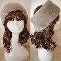5 Цветов Женщины Зима Осень Теплый Снег Hat Подражать Кролик Меховая Шапка Шапочка Hat