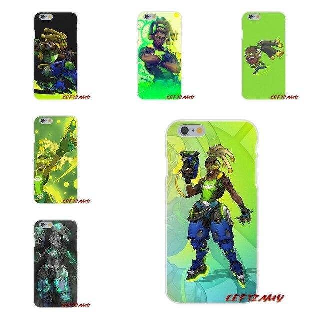Overwatch Lucio Wallpaper Slim Silicone Phone Case For Samsung