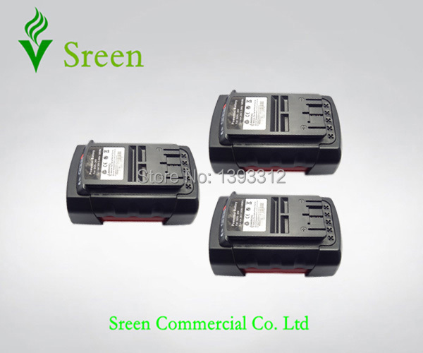 3PCS 3000mAh Rechargeable Lithium Ion Replacement for Bosch 36V Power Tool Battery Packs BAT810 BAT836 BAT840 D-70771 GSB 36V-Li 18v 3 0ah nimh battery replacement power tool rechargeable for ryobi abp1801 abp1803 abp1813 bpp1815 bpp1813 bpp1817 vhk28 t40