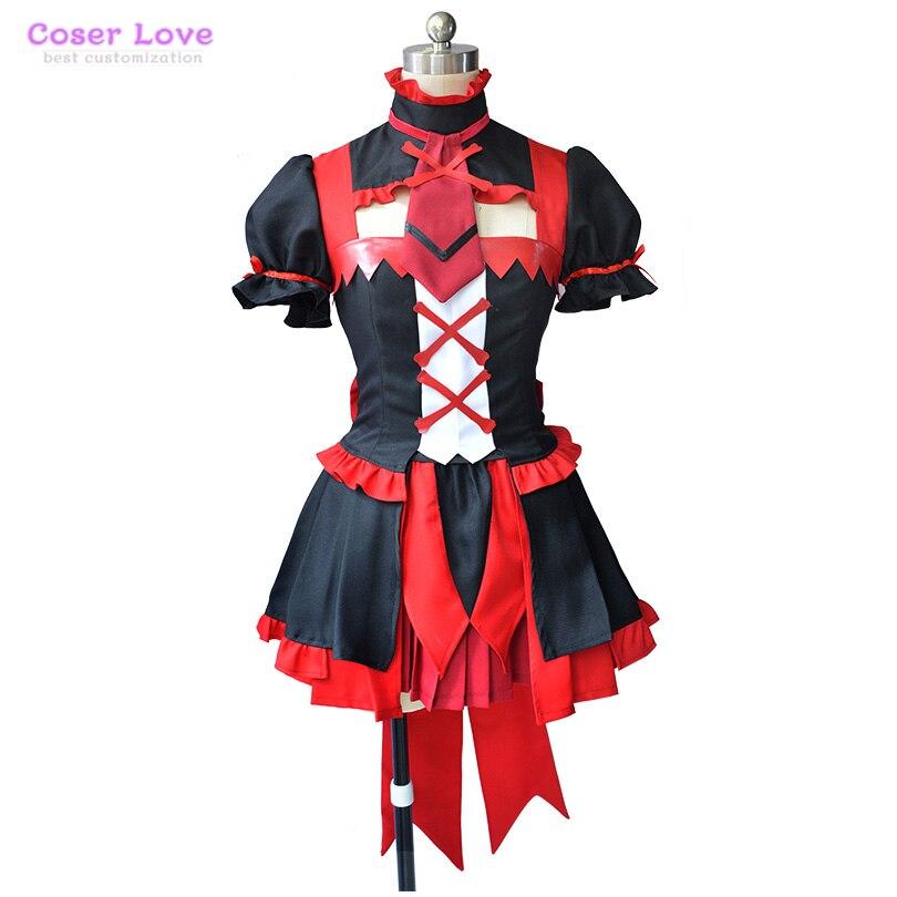 Porte Jieitai Kanochi Nite Kaku Rory Mercury Cosplay Costume Halloween noël Costume