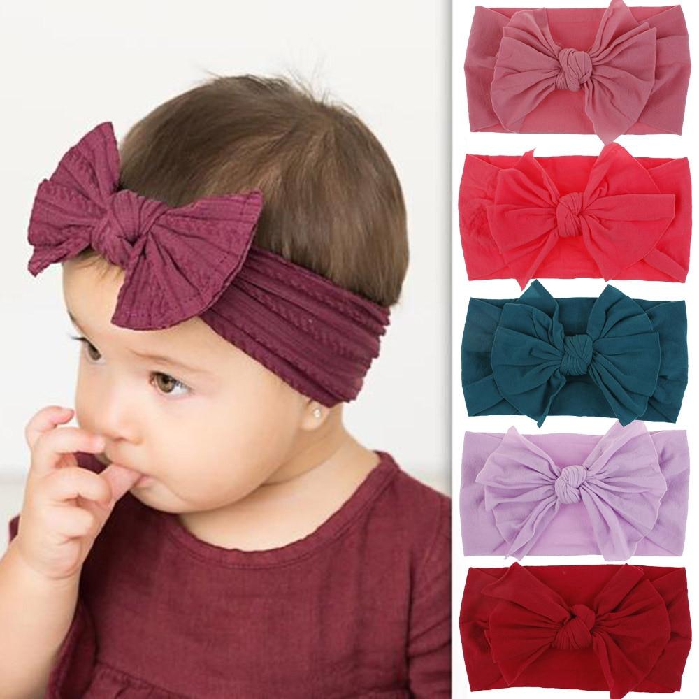 Baby headband Baby girl nylon headband Heart headband Nylon baby headband Baby earth headband Earth headband
