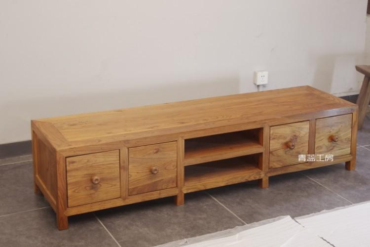 Aliexpress  Buy Blue Kobo old elm wood TV cabinet wood