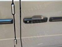 Carbon Fiber Car Door Handles Covers Trim Styling Decoration For Mercedes Benz G Class W463 G55 G63 G500 G550 5pcs/set