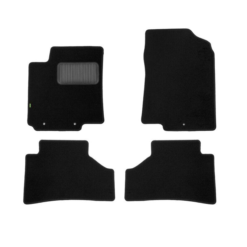 Mats in salon Klever Standard For KIA Rio 2011-2017, хб., сед... 4 PCs (textile) недорго, оригинальная цена