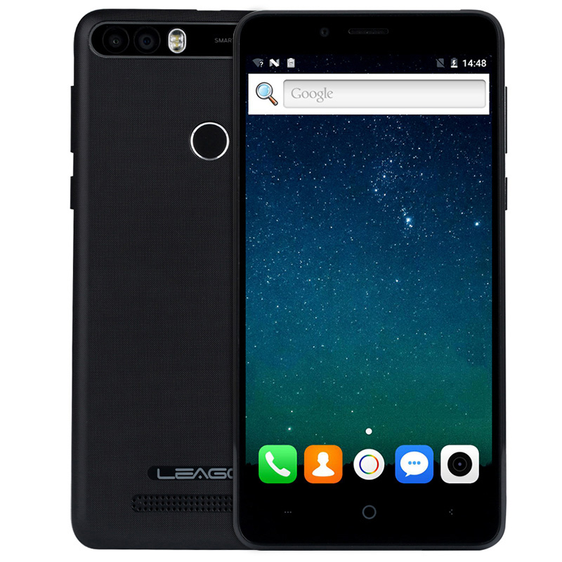 LEAGOO MTK6580A KIICAA POTENZA 3G Smartphone Originale Quad Core 1.3 GHz 2 GB di RAM 16 GB ROM 4000 mAh 5.0MP + 8.0MP Posteriore Dual telecamere