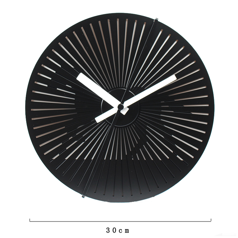 Running Horse Art Clock Sweep Seconds Movement Alloy Abs