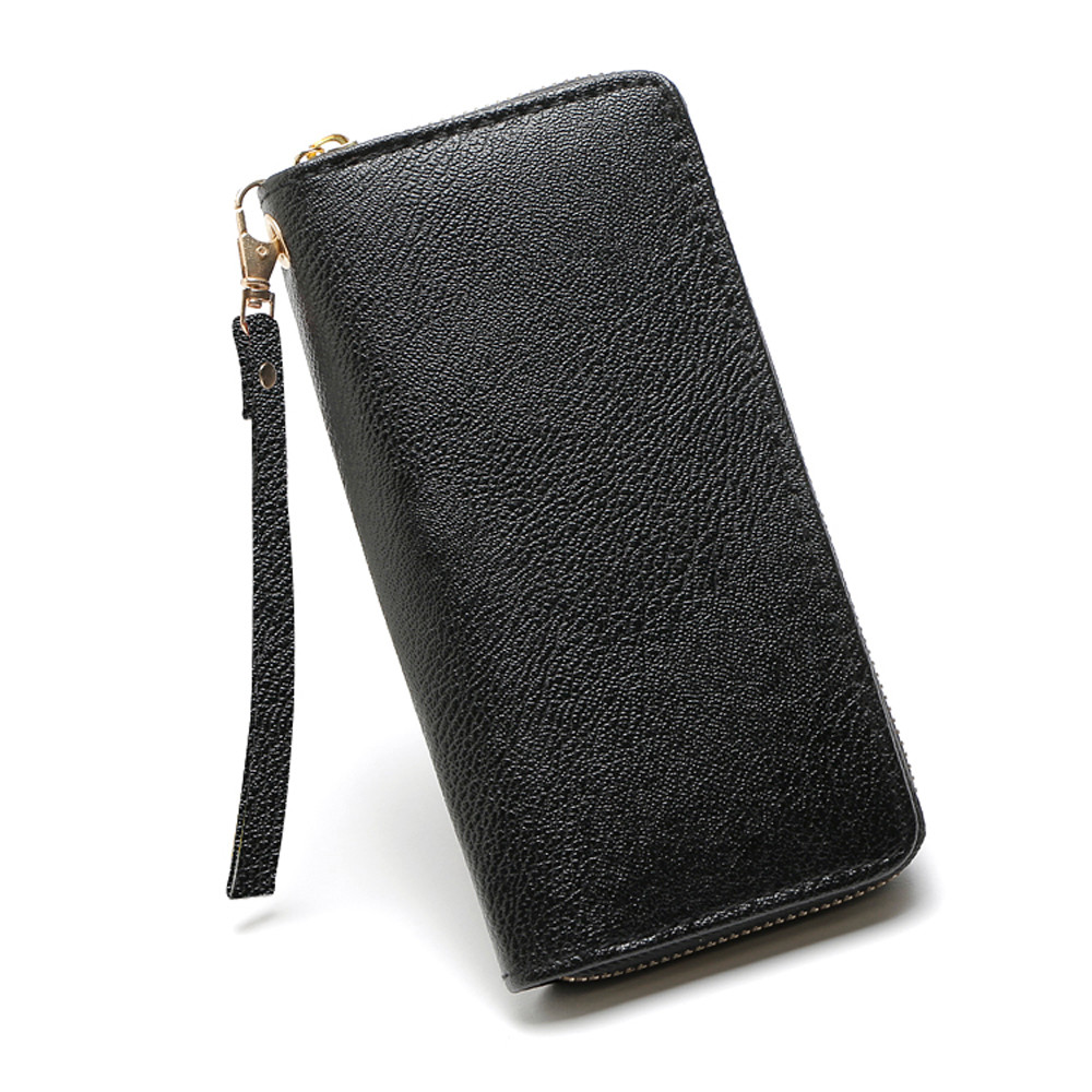 Fashion Women Lichee Pattern Road Wallet Coin Bag Purse Phone Bag Wholesale&Dropshipping Free delivery 4