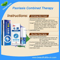 3 Sets anti psoriasis by cream & spray combined therapy for psoriasis herbal skin disease ointment stop itching