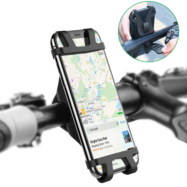 Iphone Holder For Bike >> Bicycle Phone Holder For Iphone Samsung Universal Mobile Cell Phone