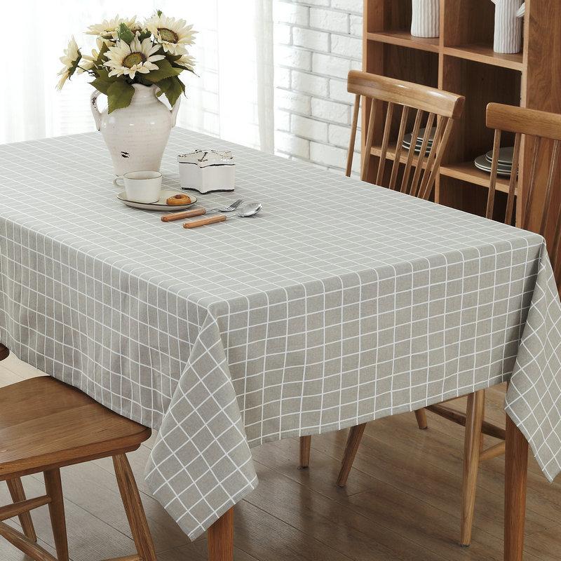 Moderne Tischdecken romorus weiß schwarz grau plaid tuch moderne tischdecken