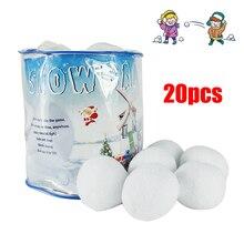 Крытый Снежный бой игровой набор-включает в себя(2) Надувные Щиты(10) плюшевые снежные шары и сетки носить BagWhite Крытый Winte