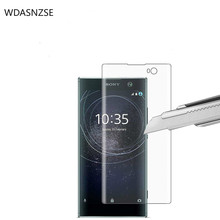 2 Pack  Screen Protector, 9H Hardness Tempered Glass Mobile Phone Protective Film  for Sony Xperia XA2 mr northjoe tempered glass film screen protector for sony xperia z1 l39h 0 3mm thin 9h hardness