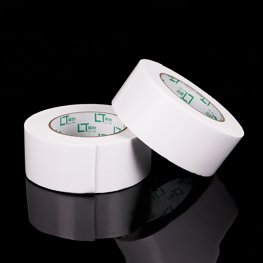 50mm X 300cm White Strong Double Sided Sticky Tape Wide Foam Double Adhesive Tape Office Stationery Supplies