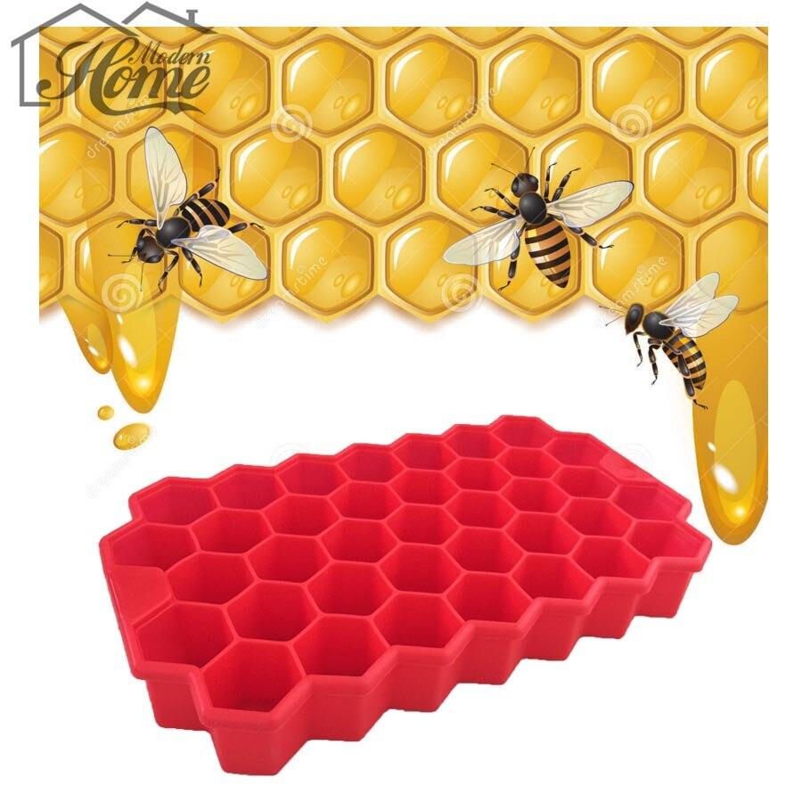 Food Grade Silicone Cake Mold Bees Honeycomb 3d Fondant Mould Chocolate Decorating Handmade Kitchen Decor Diy